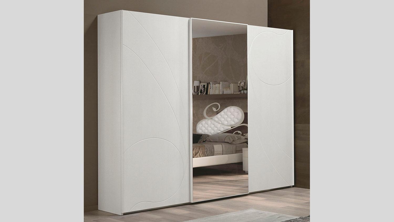 Composizione 74 nuvola camera da letto euro design for Armadio ante scorrevoli mercatone uno