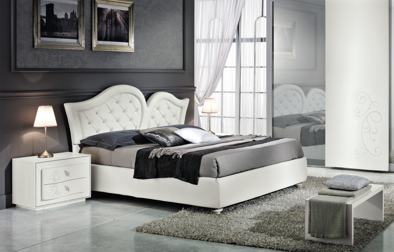 letto king letto moderno per camera da letto di design