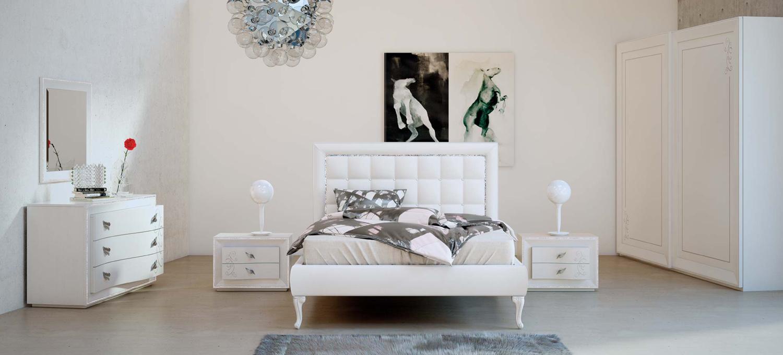 Composizione 18 Chanel - Arredamento romantico moderno