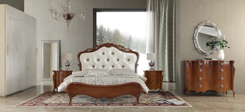 Composizione 22 Nuovelle Vie- Camera letto classica elegante
