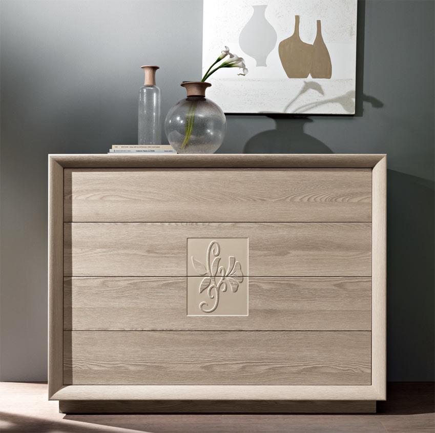 Composizione 64 artemide camera da letto moderna - Camera da letto frassino ...