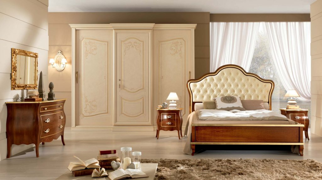Composizione 9 alfieri camera da letto elegante for Composizione camera dei deputati