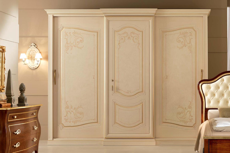 Armadio canaletto arredamento elegante per la camera da for Armadi grandi per camere da letto