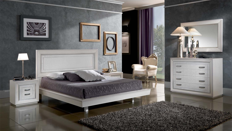 Composizione 30 perugino arredo romantico camera moderna - Computer in camera da letto ...