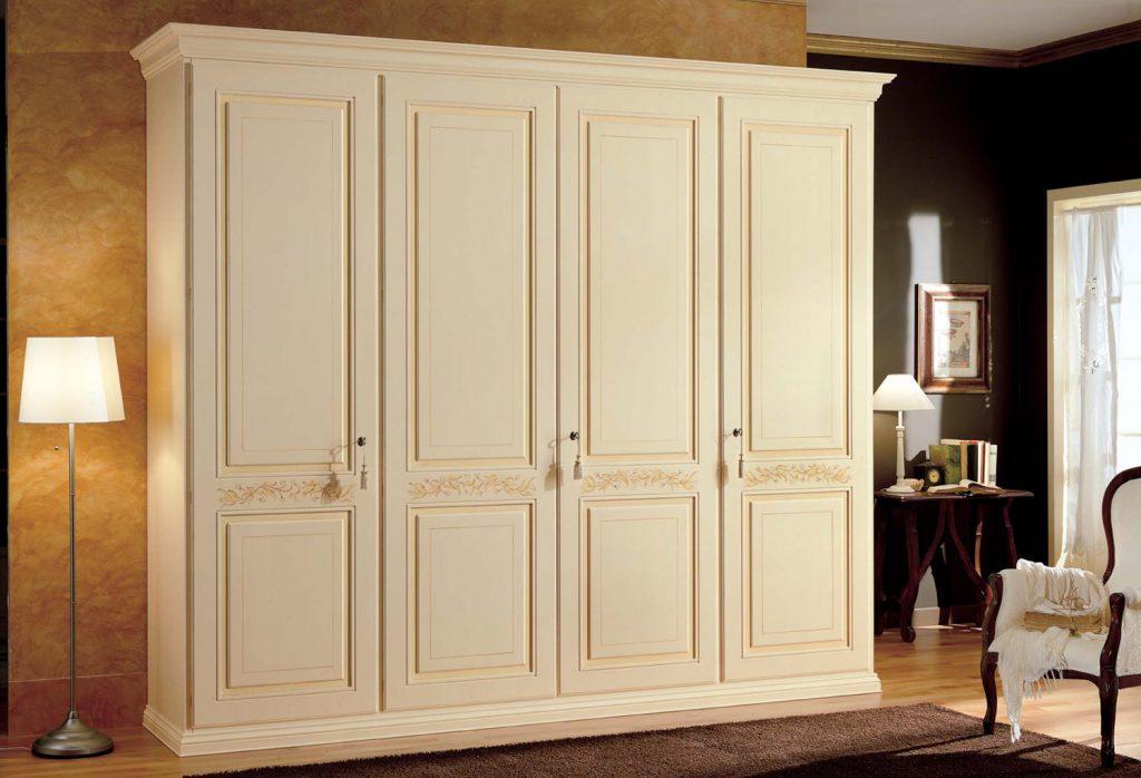 Armadio veronese mobili classici per la camera da letto for Euro design mobili