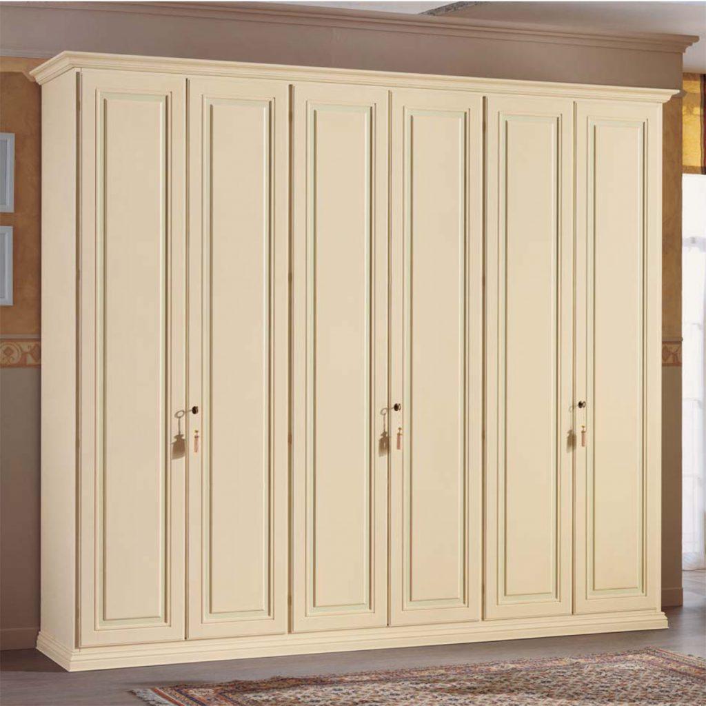 Armadio caravaggio armadio in legno per camera da letto for Armadi da camera