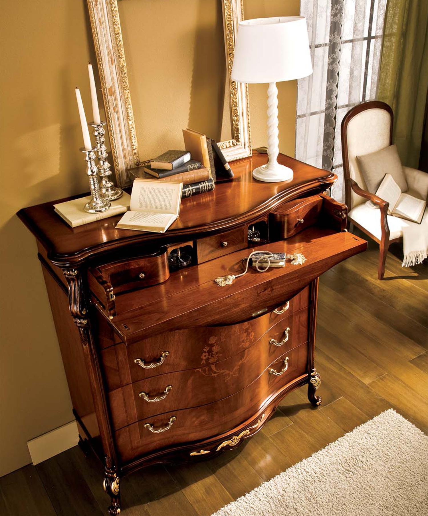 Prezzi Camere Da Letto Gotha comò bellini noce – mobili per camera da letto