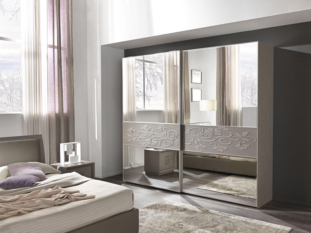 Artemide frassinogrey composizione 82 ante specchio - Camera da letto frassino ...