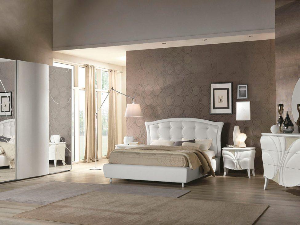 Fiocco Frassino Bianco - Arredo contemporaneo per la camera da letto