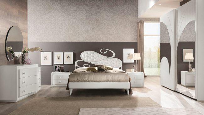 ROMANTICA FRASSINO BIANCO - Camere da letto - Euro Design