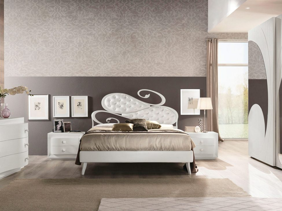 Romantica Frassino Bianco - Arredo di design per la camera da letto