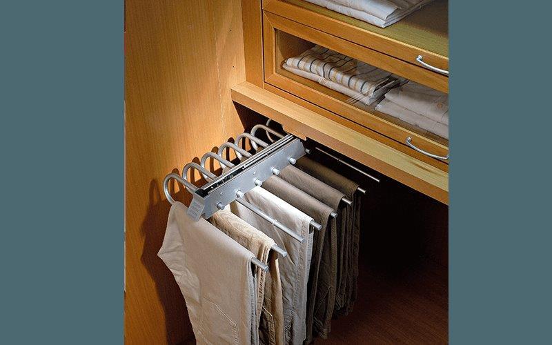 Porta Pantaloni Cabina Armadio : Armadio a incasso ante taglio obliquo componibile