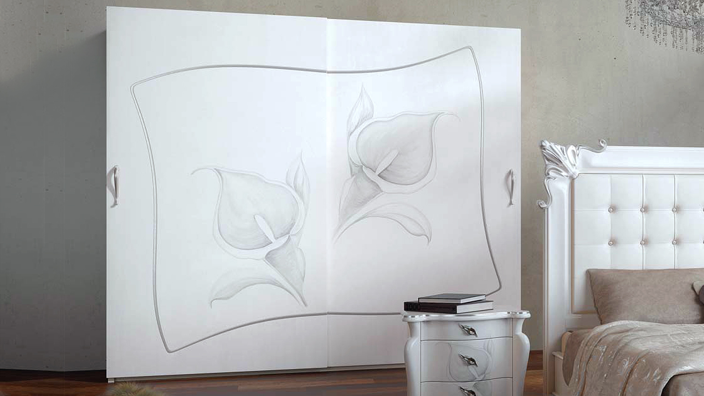 Decorazione Ante Armadio : Armadio adam u2013 cabina armadio moderna a due ante