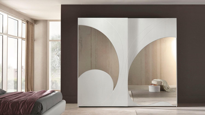 Adone ante specchio armadio euro design - Specchio armadio ...