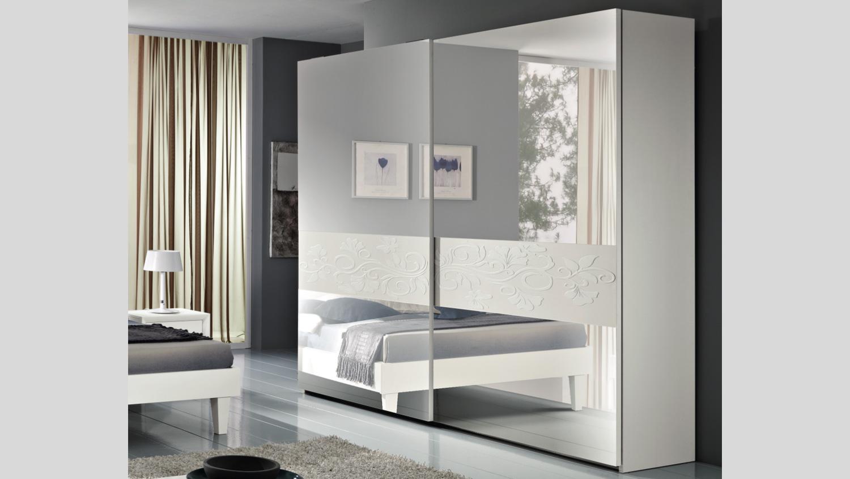 Armadio artemide armadio con specchi moderno - Camera da letto con cabina armadio ad angolo ...