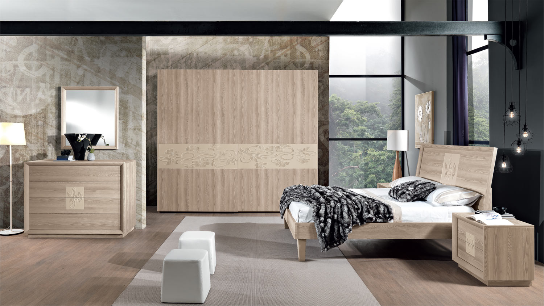 Stanza Da Letto Contemporanea : Composizione artemide u camera da letto contemporanea