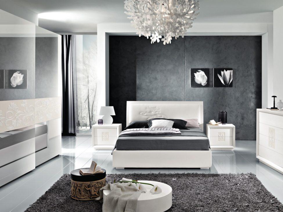 Artemide Frassino Bianco - arredamento camera da letto contemporanea