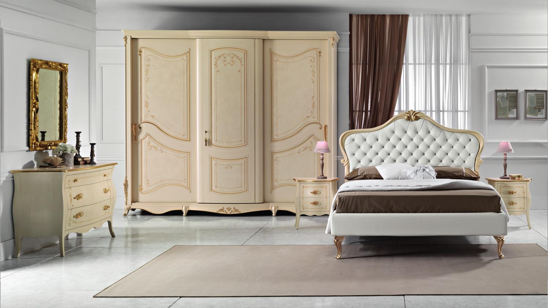 Collezione monet arredamento classico per la camera da letto - Camera da letto classica noce ...