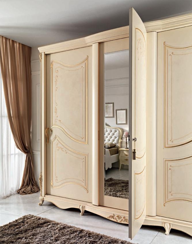 Composizione 54 monet arredamento classico camera da letto for Completano l arredamento