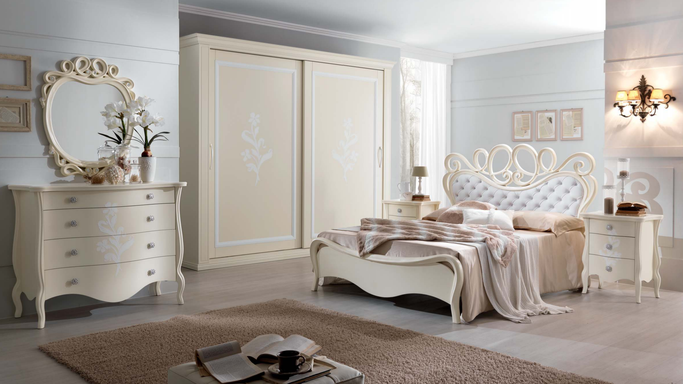 Letto dafne letto elegante moderno for Camere da letto moderne 2018