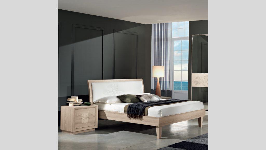 Artemide letto moderno made in italy - Camera da letto frassino ...