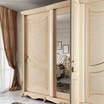 Collezione Classica_Monet_dettaglio armadio modello Monet patinato standard