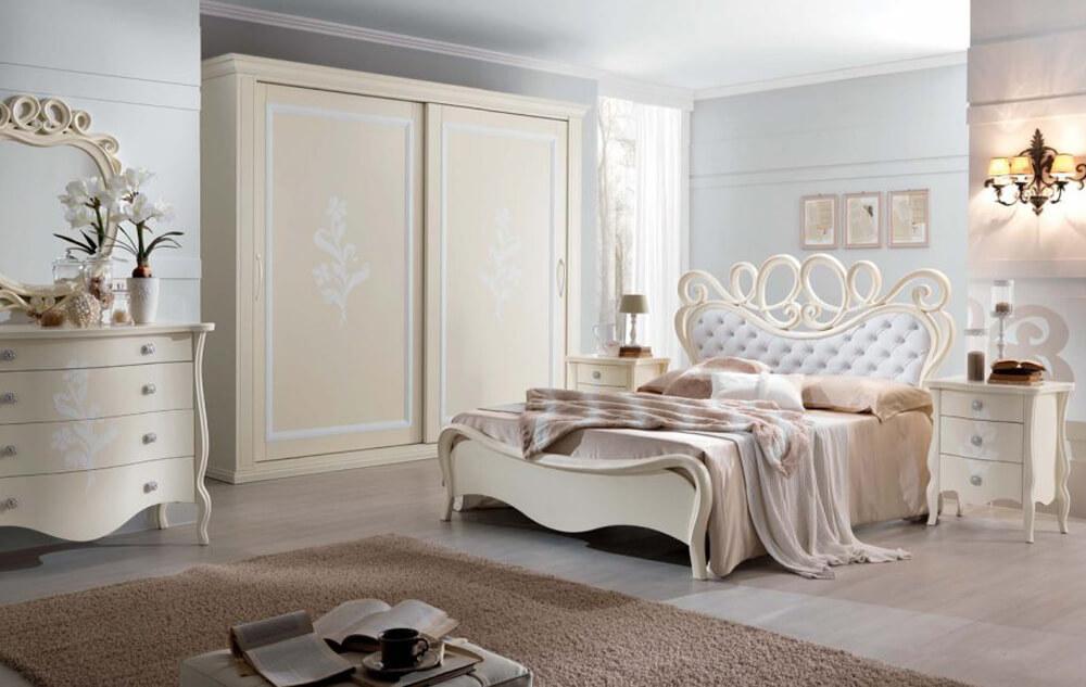 camera-da-letto-stile-classico-di-euro-design